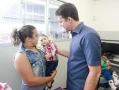 A secretaria de saúde inaugurou na manhã dessa terça (11) a policlínica da criança e do adolescente, especializada na terapia ocupacional de criança com microcefalia